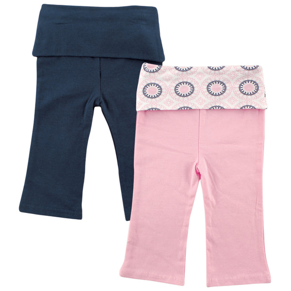 Yoga Sprout Cotton Pants, Ornamental