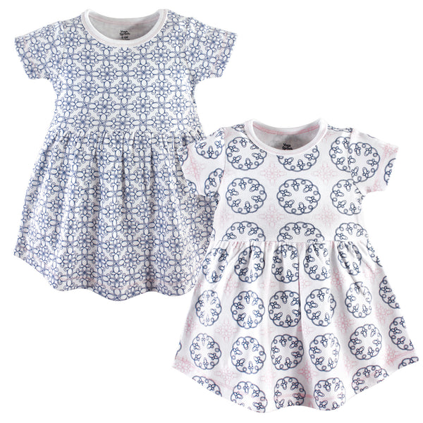 Yoga Sprout Cotton Dresses, Whimsical
