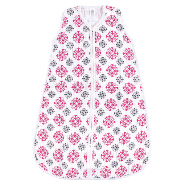 Yoga Sprout Sleeveless Muslin Cotton Sleeping Bag, Sack, Blanket, Medallion