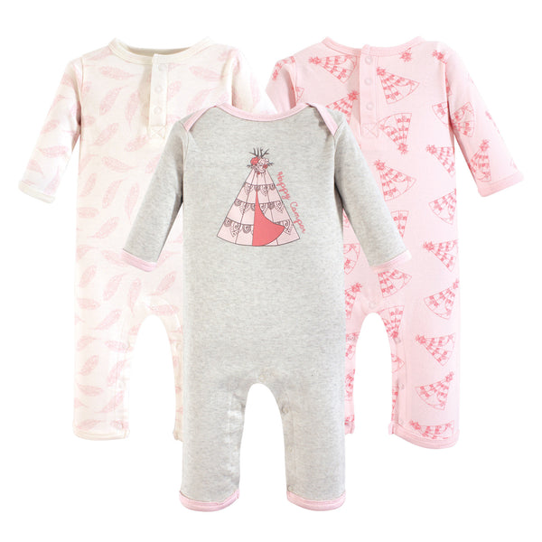 Yoga Sprout Cotton Coveralls, Teepee