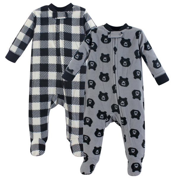 Yoga Sprout Fleece Sleep and Play, Bear