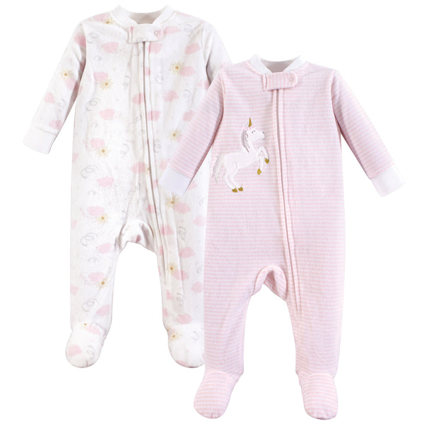 Yoga Sprout Fleece Sleep and Play, Unicorn