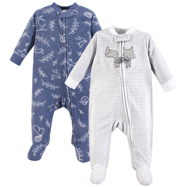 Yoga Sprout Fleece Sleep and Play, Forest