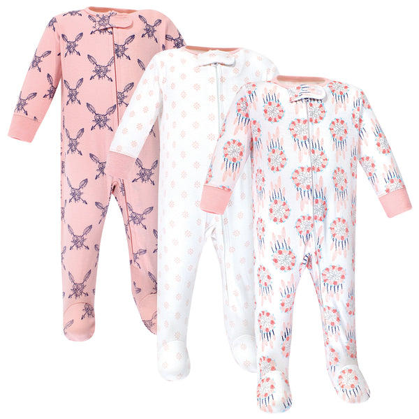 Yoga Sprout Cottton Zipper Sleep and Play, Dream Catcher