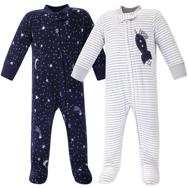 Yoga Sprout Fleece Sleep and Play, Spaceship