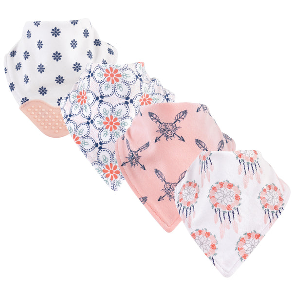 Yoga Sprout Cotton Bandana Bibs, Dream Catcher