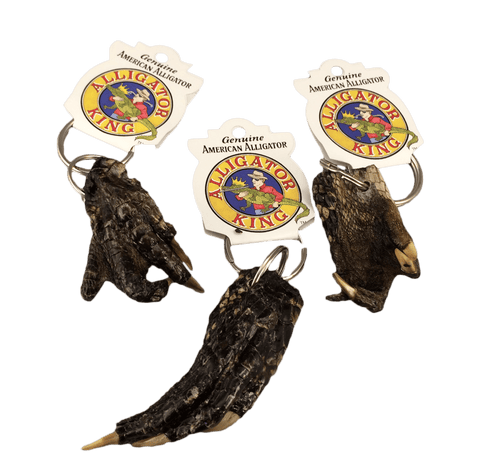 Alligator Foot Key Ring