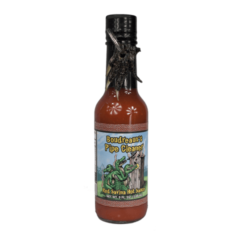 Boudreaux Pipe Cleaner - Red Savina Hot Sauce
