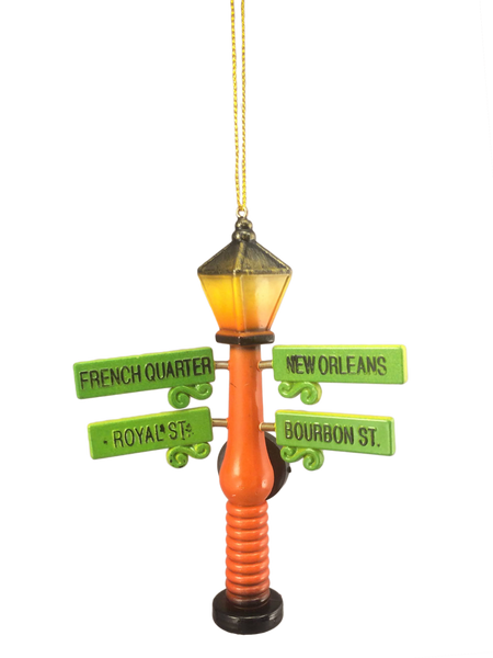 French Quarter Street Sign Ornament - 7 Colors