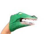plastic alligator puppet