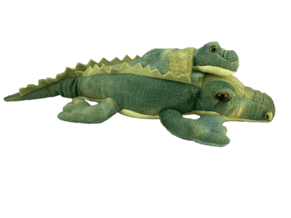 two alligators plush toy