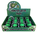 monster gator truck display
