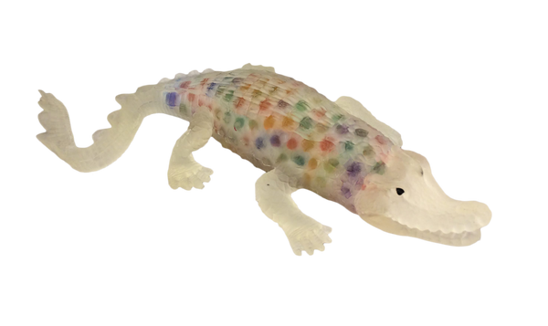 multi-colored alligator
