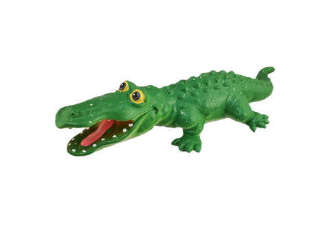 "Soft plastic gator - 2 sizes: 4"" and 9"""