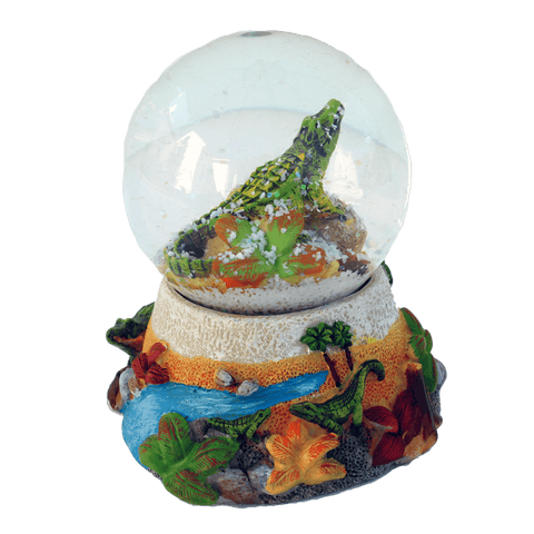 Alligator Snow Globe
