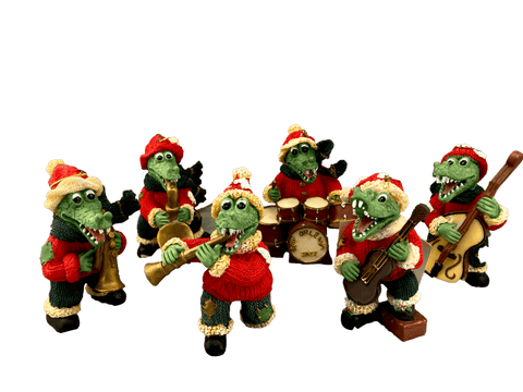 Santa alligators jazz band