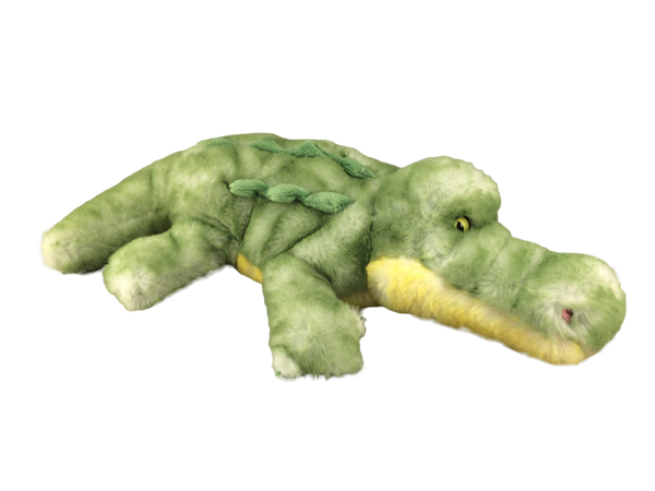 Light green super soft plush gator