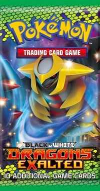 Pokemon Black and White Dragons Exalted Booster Pack