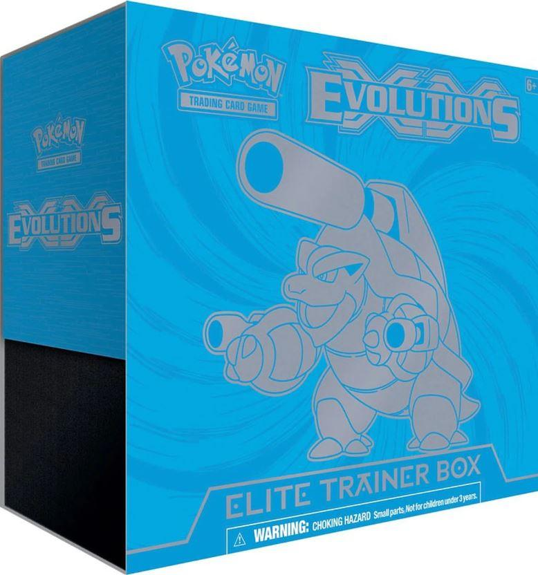 Pokemon XY Evolutions Blastoise Elite Trainer Box