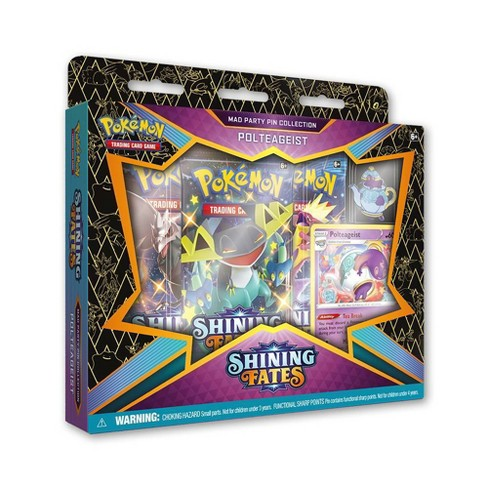 Pokemon Shining Fates Mad Party Pin Collection: Polteageist