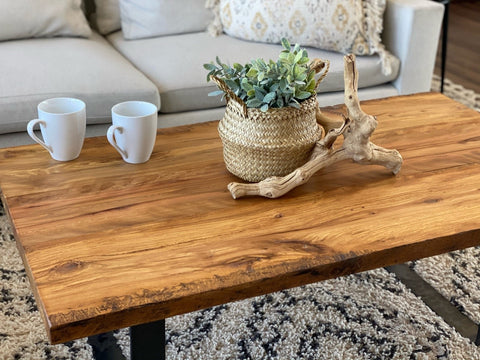 Caring For Your Live Edge Coffee Table
