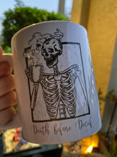 Load image into Gallery viewer, Death Before Decaf Fugly Mugly