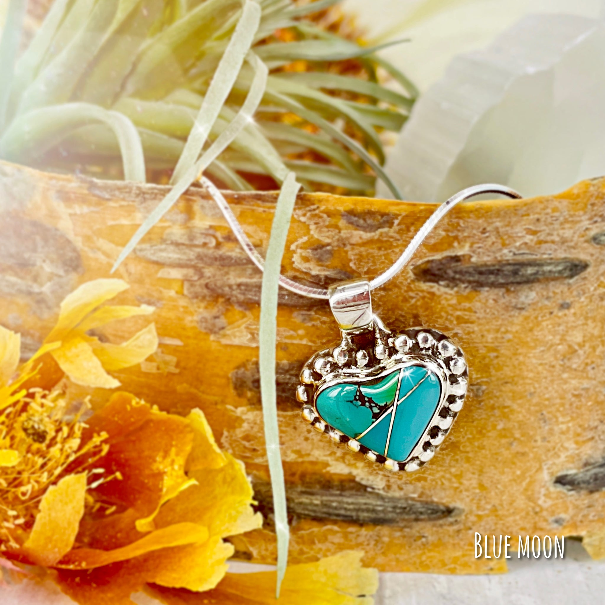Heart & Soul {turquoise} necklace