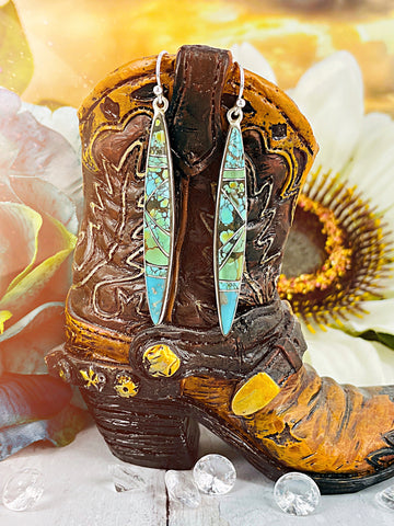 Love of the Southwest {Blue Moon} turquoise Earrings
