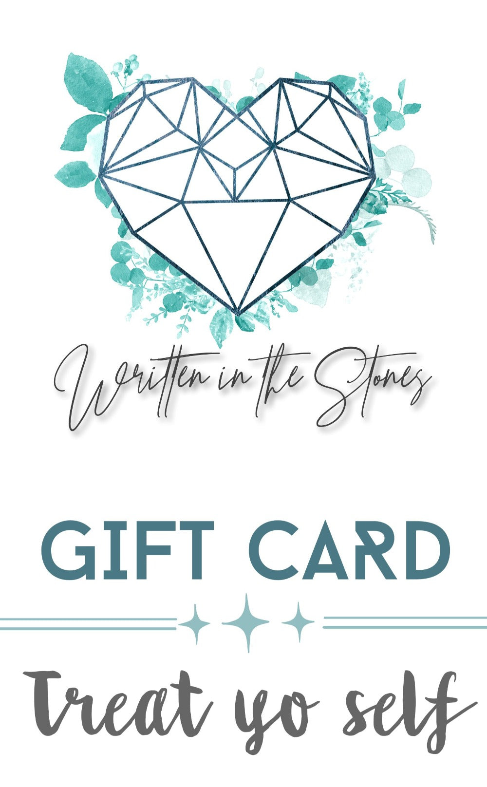 Written in the Stones Gift Card