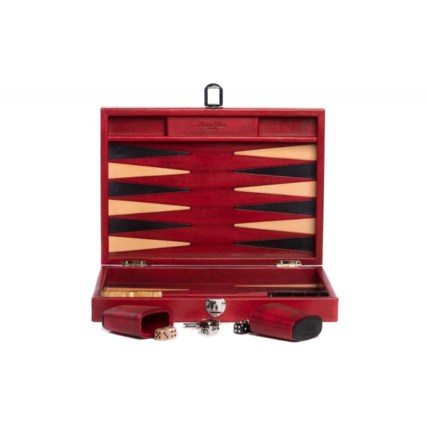 Louis - Backgammon Medium Patina Leather