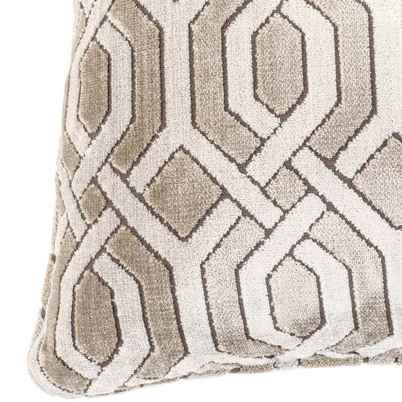 Velvet Trellis Cushion