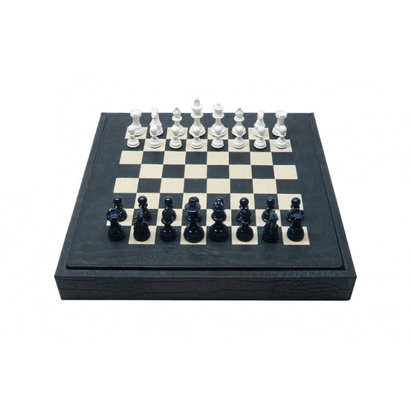 Chess set Box Alligator style