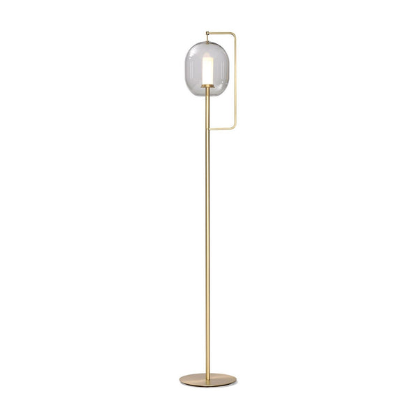 Lantern Light LED Floor Lamp