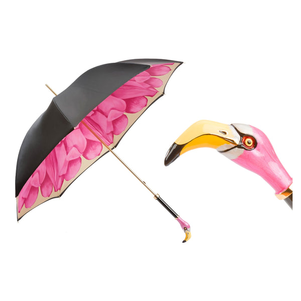 Flamingo Umbrella, Double Cloth