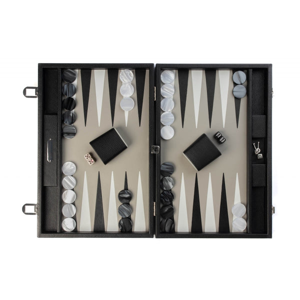 Baptiste - Backgammon cuir Buffle large