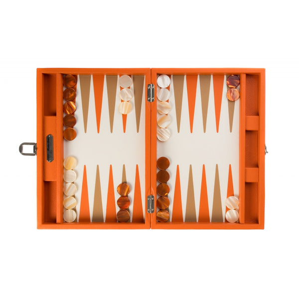 Baptiste - Backgammon Buffle leather medium