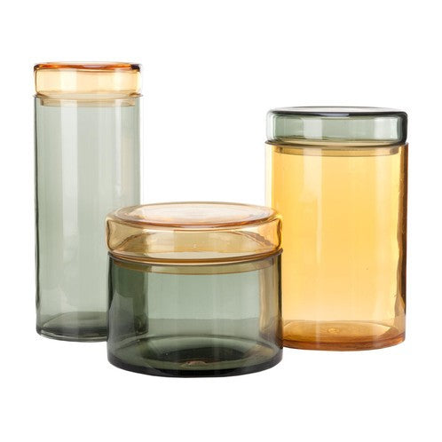 Caps & Jars Storage Jar Set of 3