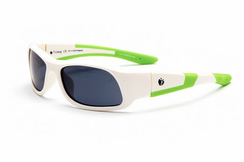 myZB Sport A2 - Shiny White / Neon Green