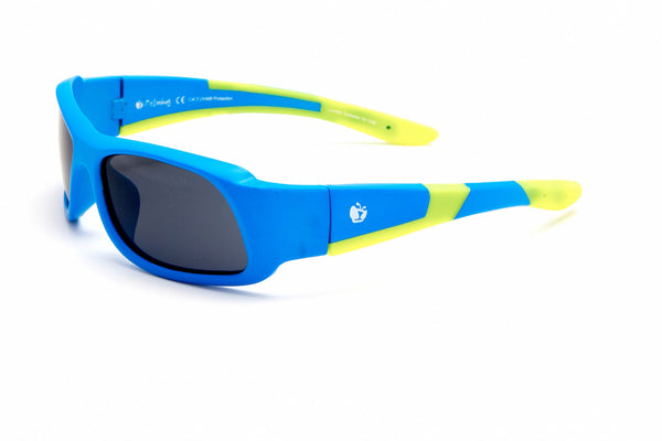 myZB SportA1 - Matt Neon Blue/Neon Yellow