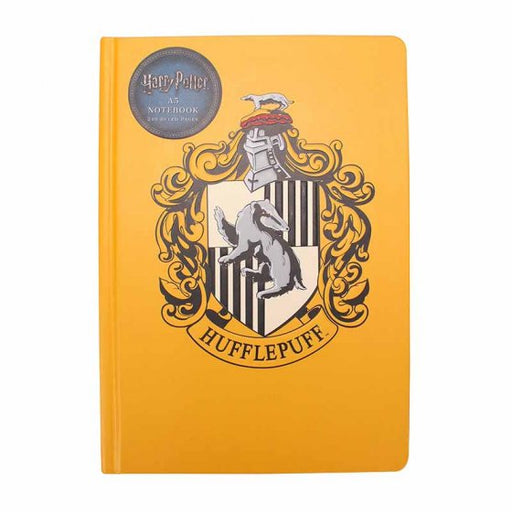 A5 NOTEBOOK - HARRY POTTER (HOUSE HUFFLEPUFF)