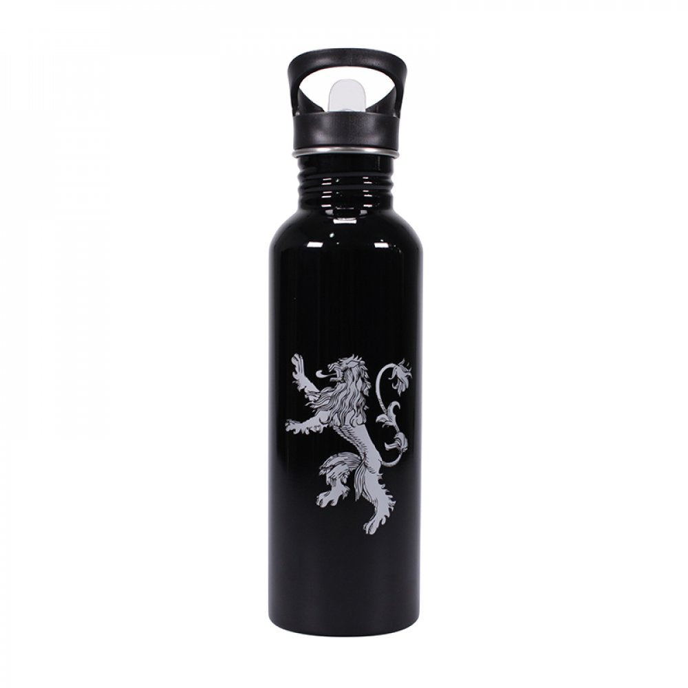 WATER BOTTLE (METAL ) 750ML - GAME OF THRONES (I DRINK)