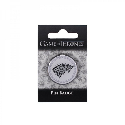 PIN BADGE ENAMEL - GAME OF THRONES (STARK)