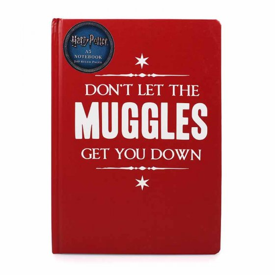A5 NOTEBOOK - HARRY POTTER (MUGGLE GET DOWN)