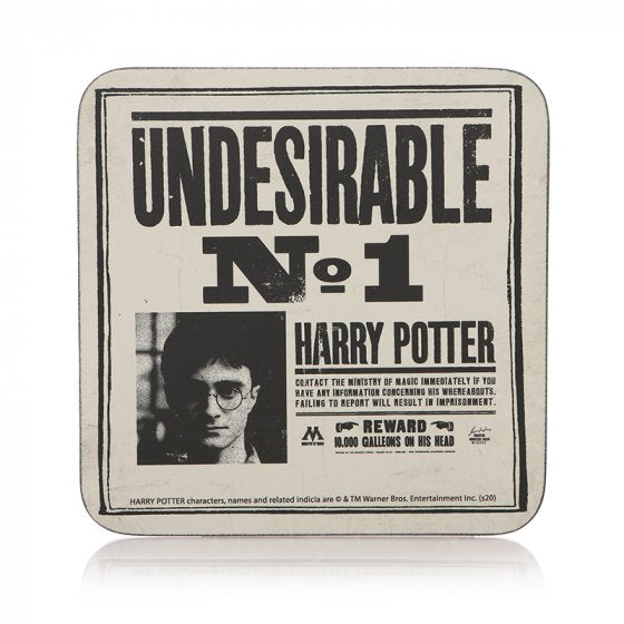 COASTER SINGLE - HARRY POTTER (UNDESIRABLE NO1)