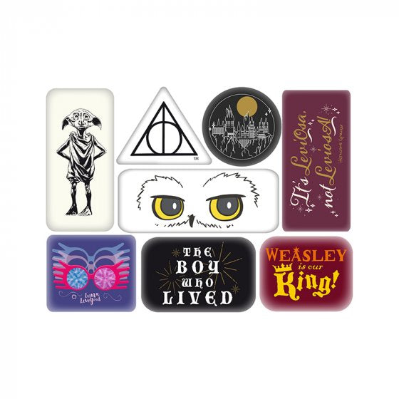 MAGNET EPOXY SET OF 6 - HARRY POTTER (CHARACTERS)