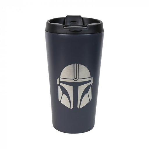 TRAVEL MUG (METAL) - STAR WARS (MANDALORIAN)