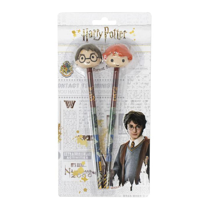 HARRY POTTER 3D PENCIL ERASER TOPPERS (SET)