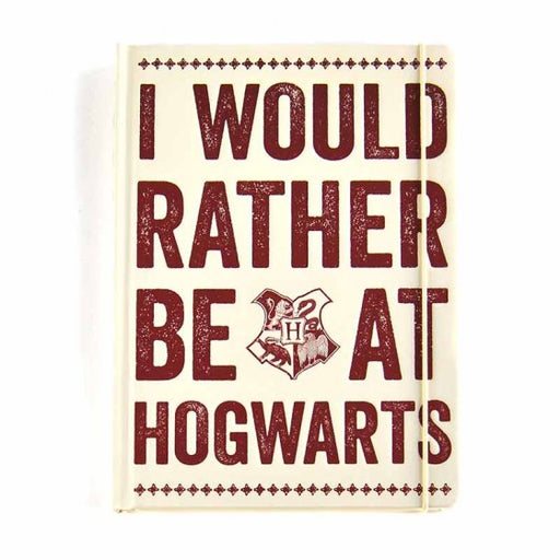 A5 NOTEBOOK - HARRY POTTER (HOGWARTS SLOGAN)