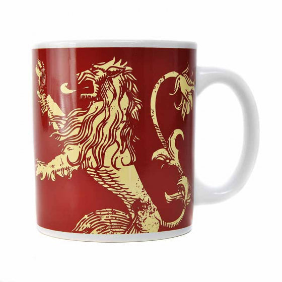 MUG BOXED (350ML) - GAME OF THRONES (LANNISTER)