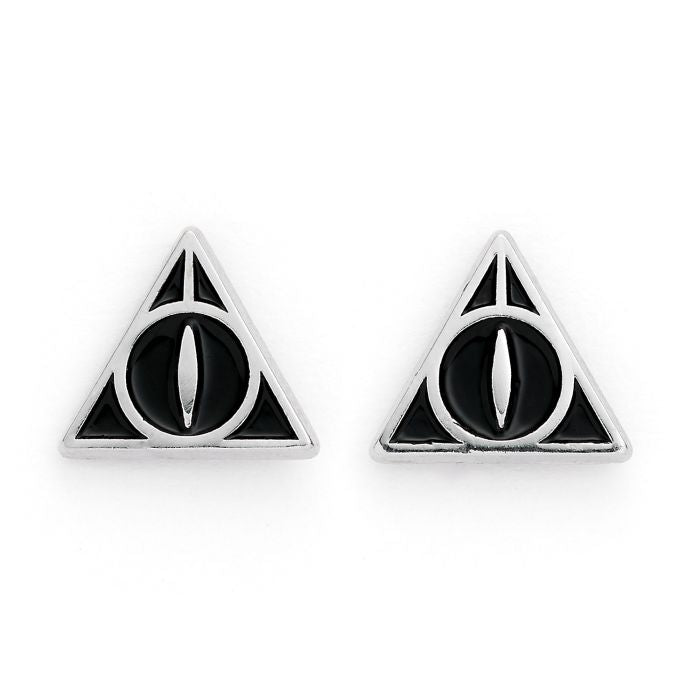 Official Harry Potter Deathly Hallows Stud Earrings